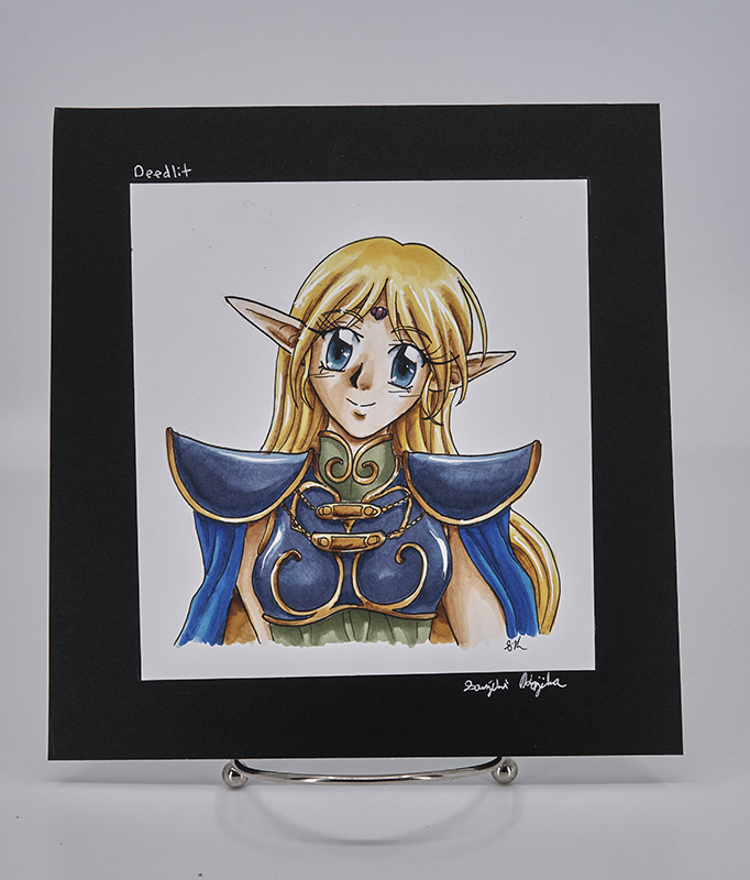 Original Copic Art- Deedlit