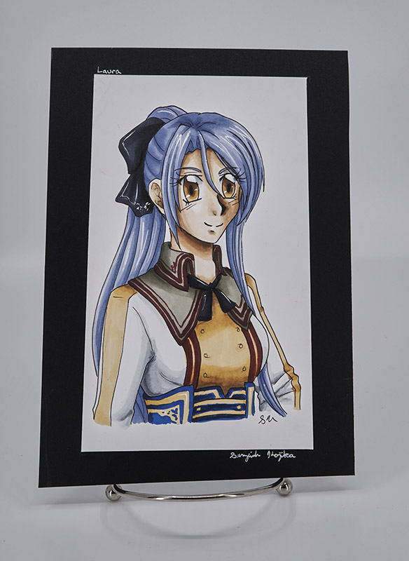 Original Copic Art- Laura